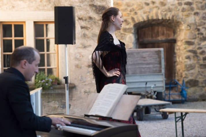 Bettina Schneebeli Mezzosopran - Schloss Hallwyl, den 25.08.2016 Foto: Priska Ketterer/argovia philharmonic
