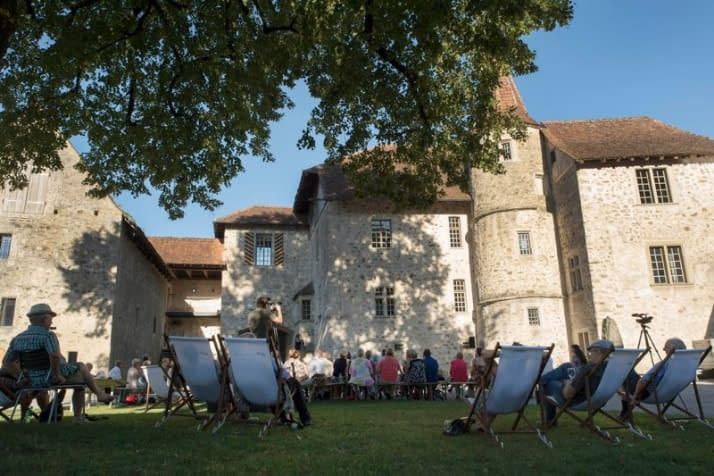 Schloss Hallwyl, den 25.08.2016 Foto: Priska Ketterer/argovia philharmonic